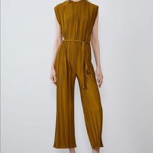 Zara Pleated Jumpsuit